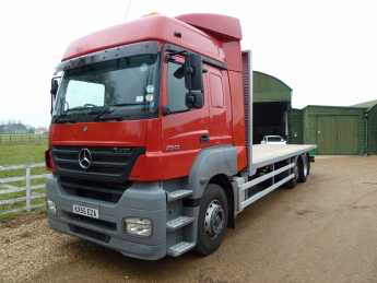 Mercedes-benz Axor 25 12.0 2543 Rigid Diesel Red at SRG Specialist Cars Biggleswade
