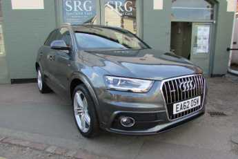 Audi Q3 2.0 TDI QUATTRO S LINE Estate Diesel Daytona Grey at SRG Specialist Cars Biggleswade